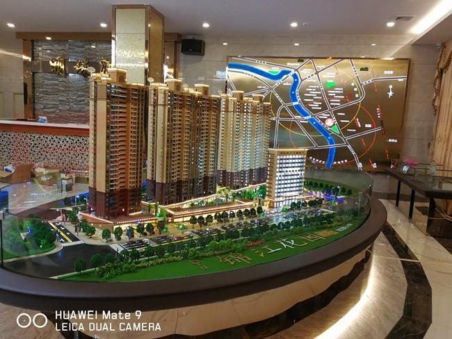售楼大厅沙盘模型到底发挥着什么样的作用?
