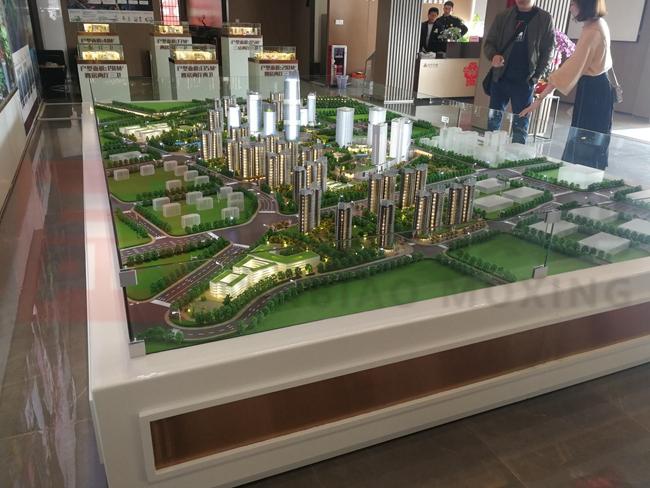 房地产沙盘模型怎么看?要注重整体规划