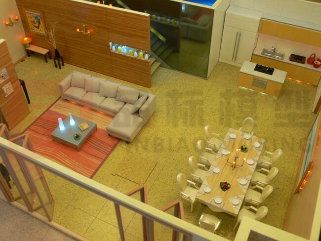 住宅剖面模型