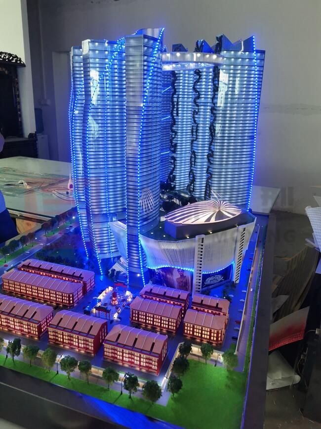 马来西亚一帆风顺香港展厅模型