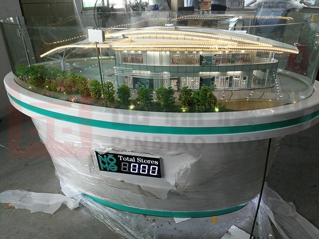 广州诺米品牌管理有限公司招商模型1:75